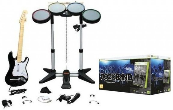 the beatles rock band limited edition premium bundle the beatles rock band special value edition xbox 360 publicscrutiny Gallery